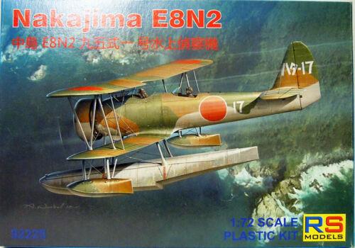 Neu 1:72 Plastik RS-Models Nakajima E8N2