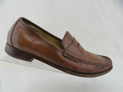 COLE HAAN Ascott Brown Sz 9 M Men Penny Loafers   eBay