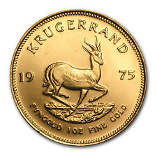 1975 1 oz Gold South African Krugerrand Coin