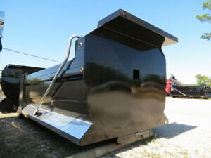 NEW 20' ELLIPTICAL DUMP BODY HARDOX AR450 1/4 GAUGE PNEUMATIC TAILGATE TRUCK BED