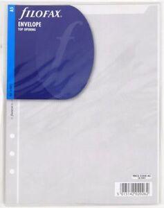 Filofax-343612-A5-Transparent-envelope-top-opening
