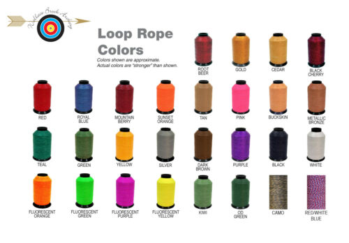BCY D-LOOP Release Rope All Colors Available 3 Feet