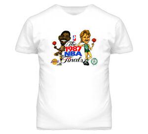 san francisco dc7cb 0d5d9 Details about Larry Bird Magic Johnson Retro T Shirt