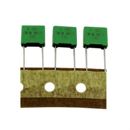 20x mkt-condensador radial 0,22µf 100v DC; rm7 5; 1818-422//015w; 220nf