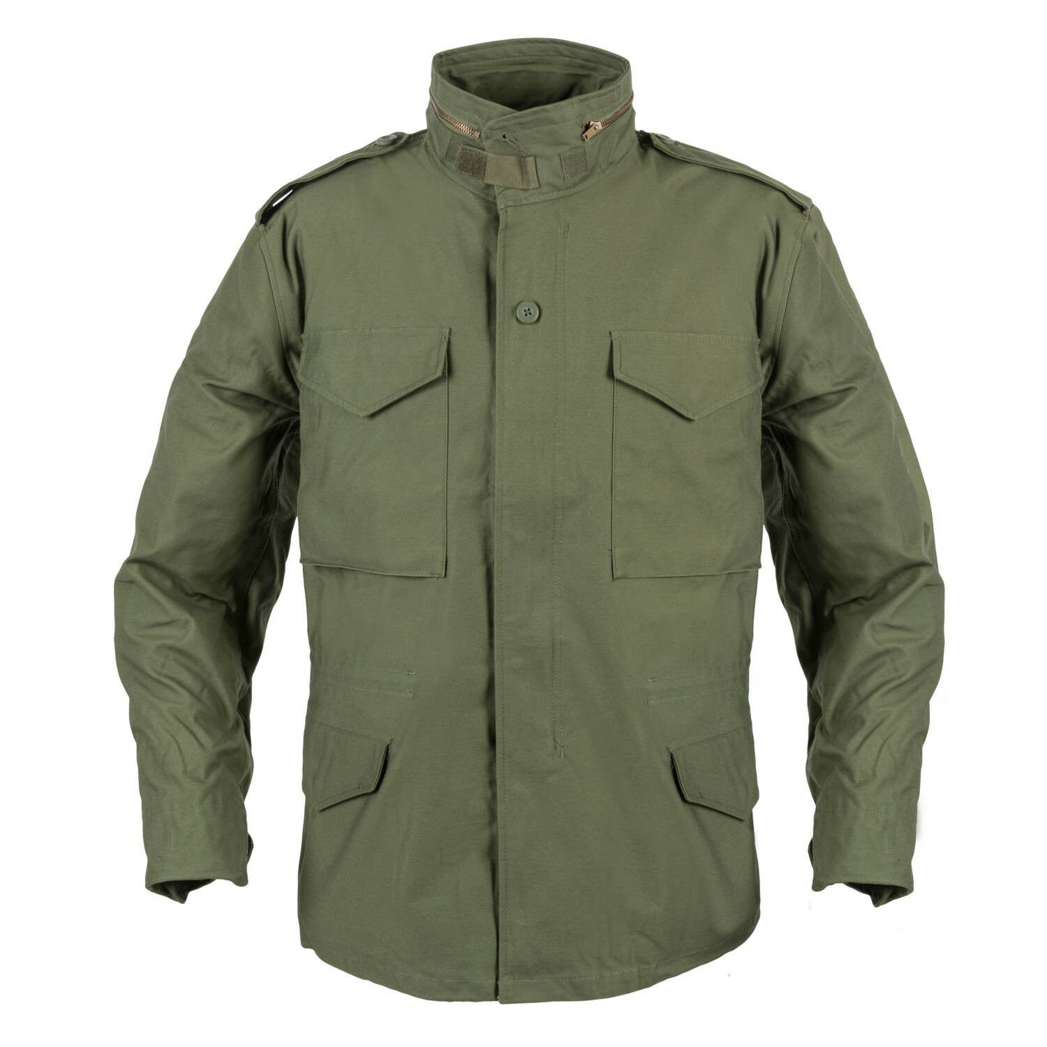 Helikon TEX US m65 Army Outdoor Giacca Parka con fodera verde oliva verde LARGE REGULAR