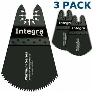 3pc Oscillating Multi Tool Circular Blade Set -fits Ryobi JobPlus by Integra®