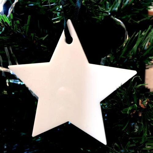Verscheidene Farben Stern Form Weihnachtsbaumdekoration Packung 10 X 7cm