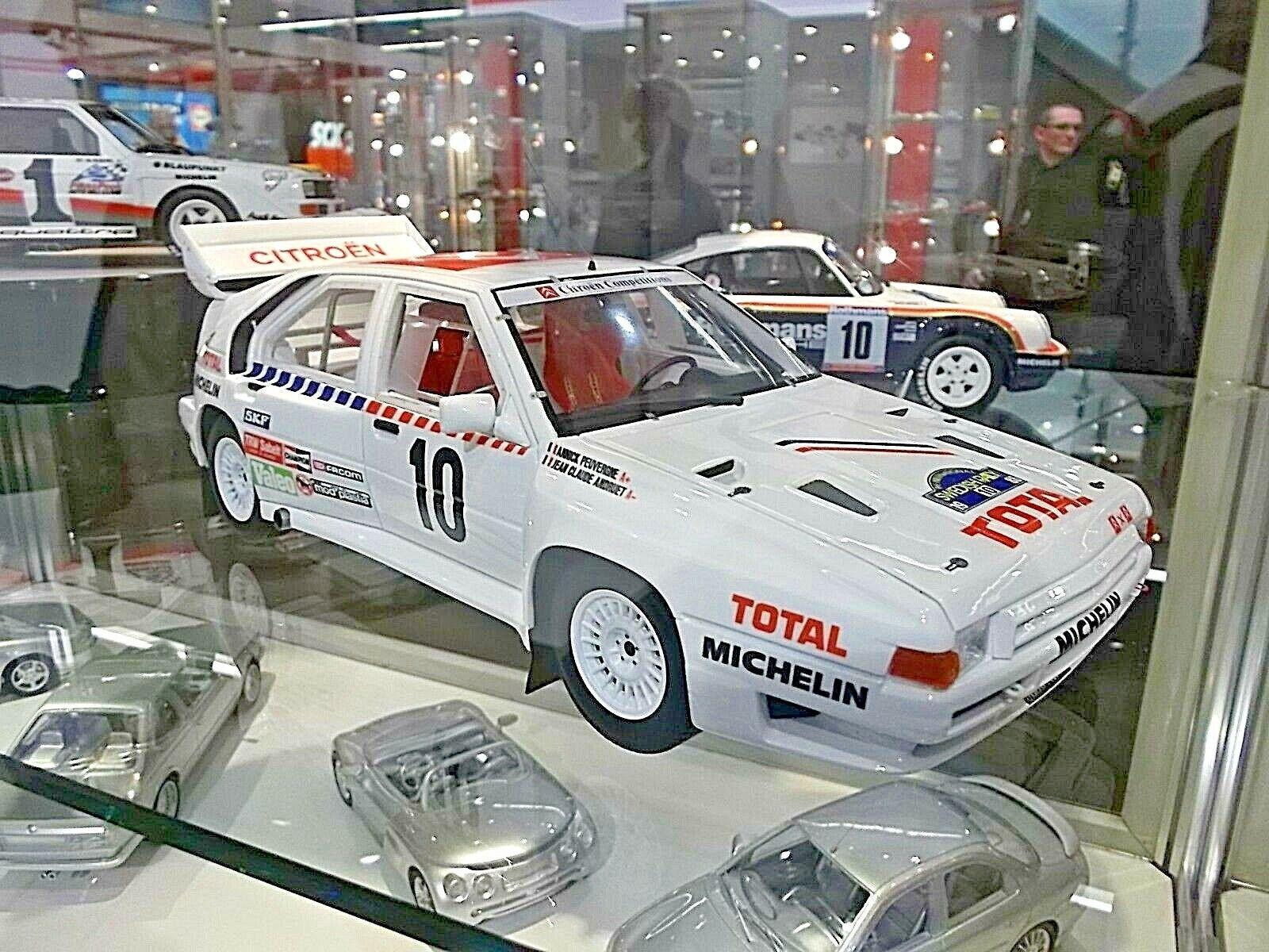 CITROEN BX 4TC Gr.B Rallye Schweden WM 1986 Andruet 1 2000 Otto RAR 1 18