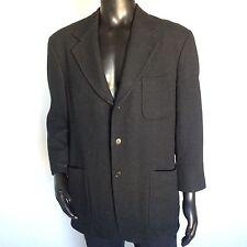 Valentino Mens Pure Cashmere Suit Jacket Size 44 S Black Dress Blazer S