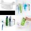 InterDesign-Potenza-Blocco-ASPIRAZIONE-bagno-doccia-Caddy-cesto-per-shampoo-saponi miniatura 1