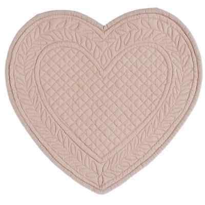 Blanc Mariclo Toskana Tischdecke Platzdecke Platzset oval Quilt creme Shabby