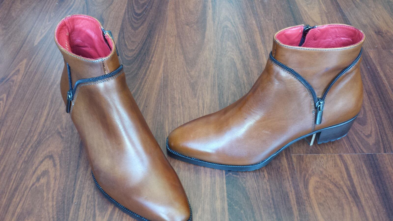 Grandes zapatos con descuento Italienische STIEFELETTE Gr. 38 NEU im KARTON