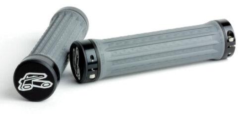 Renthal Traction Medium Lock-On MTB Bike Grips Grey