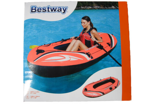 Schlauchboot Paddelboot Gummiboot Boot Anglerboot Ruderboot Badeboot Bestway NEU