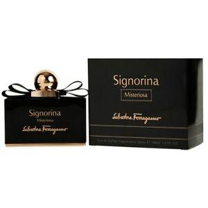 Detalles de Perfume Mujer SALVATORE FERRAGAMO Signorina Misteriosa 100ML Edp 3,4 OZ 100ML