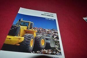Volvo L150E L180E L220E Waste Handling Wheel Loader Dealer's Brochure DCPA6