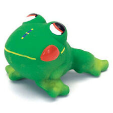 COASTAL PET RASCALS LATEX GREEN FROG DOG TOY SQUEAKER FREE SHIPPING TO THE USA