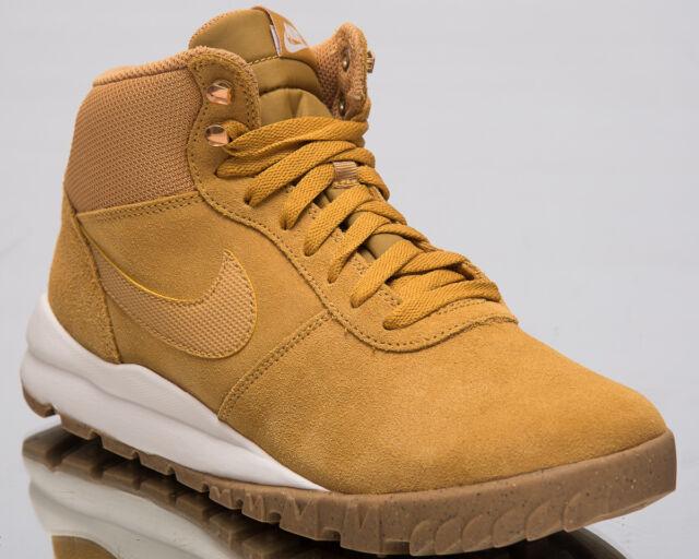 wholesale dealer 4cd5a ba7df Nike Hoodland Suede Men Sneakers Sail-Gum Light Brown Lifestyle Shoes  654888-727