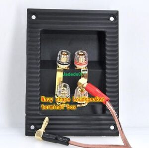 Details about 1pcs 4-way Speaker Copper terminal Wiring board Junction on