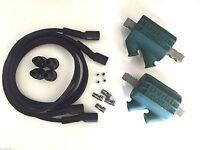 Dyna Ignition Coils 3 Ohm Dual Output Dc1-1 Wires Dw-200 Honda Cb750 Cb 750