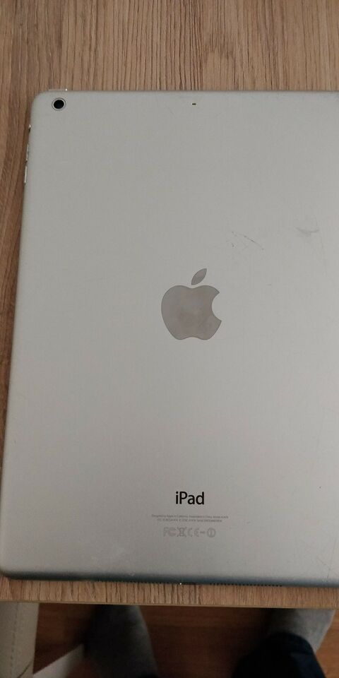 iPad Air, 16 GB, hvid