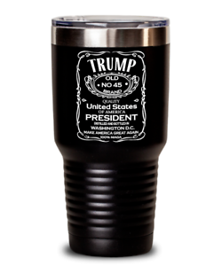8493b392f2d Details about Funny President Donald Trump 45 Tumbler 30 oz Insulated  Stainless Steel Gifts