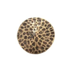 TRINITY CONCHOS ROUND BR 8 Solid Brass VINTAGE High Quality USA Leather Crafts !