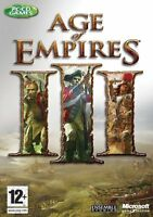Age Of Empires Iii 3 Pc Strategy Game Brand Factory Sealed