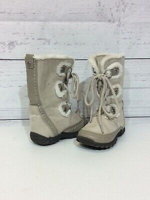 New $45 Toddler Girls RACHEL SHOES Faux Suede Winter Boots Sizes 6 7 Zip Closure