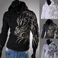 Herren Kapuzenpullover Hoodie Basic Pullover Jacke T-Shirt Langarm Sweatshirt