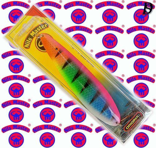 Nils Master Farbe:97 NaK selten erhältlich Trolling Blinker 45gr von Bete