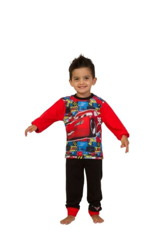 Disney Cars Pyjamas  2 to 7 Years Mcqueen Cars Pyjamas Disney Long Cars PJs W17