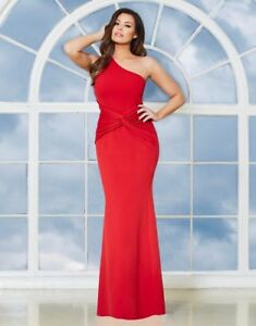 Lipsy Jessica wright red one shoulder maxi dress size 12 brand new tags RRP 85 - Leeds, United Kingdom - Lipsy Jessica wright red one shoulder maxi dress size 12 brand new tags RRP 85 - Leeds, United Kingdom