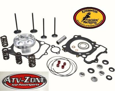 KibbleWhite Intake and Exhaust Valves w// Spring Kit and Seals CRF 450R 2007-2008