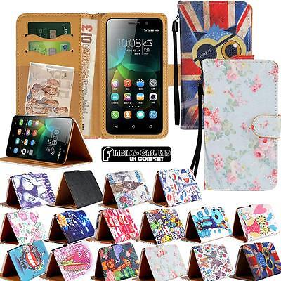 buy popular 0e9a7 76d3e New Leather Stand Flip Wallet Cover Mobile Phone Case For Huawei  P2/P6/P7/P8/P9 | eBay