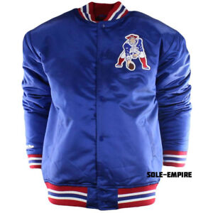 huge selection of db15f 891be Mitchell & Ness New England Patriots Throwback Satin Jacket ...