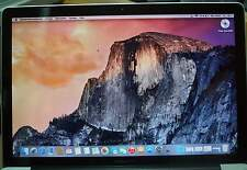"Macbook Pro 15,4"" - 2011 Core i7 2 GHz Quadcore CPU / 4 GB RAM / 750 GB a1"