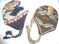 Mens (2) Winter Hats For (1) Price, Route 66 Clothing, 0sfm,wool Blend