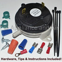 Travis Avalon Lopi Pellet Stoves Vacuum/air Pressure Sensor Switch + Instruction