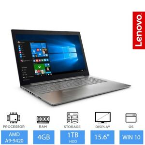 Lenovo-Ideapad-320-15-6-034-Barato-Portatil-AMD-A9-9420-4gb-Ram-1tb-HDD-Windows-10