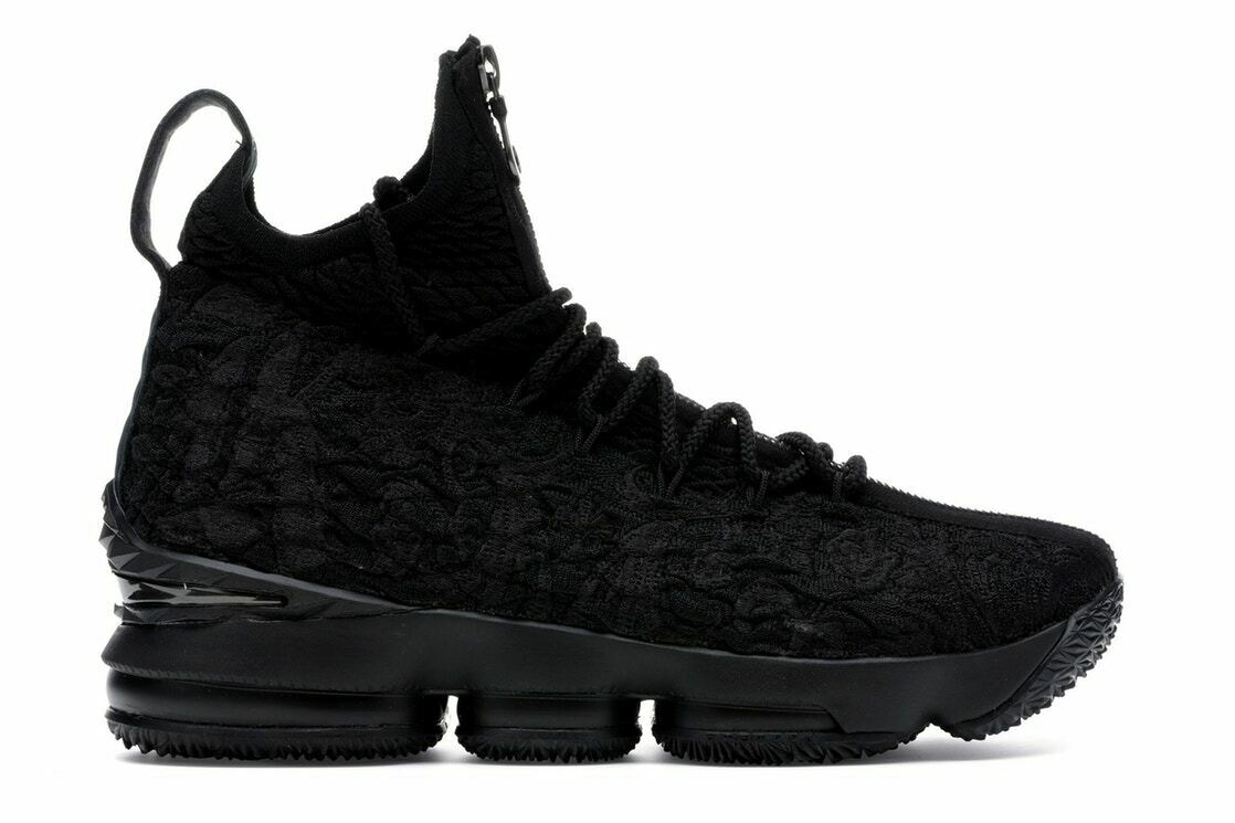 Nike LeBron 15 XV Performance KITH Suit of Armor Black NEW With Box Size-16