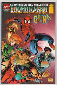 L'UOMO RAGNO/GEN 13 - Le battaglie del millennio n°4 - Marvel Italia
