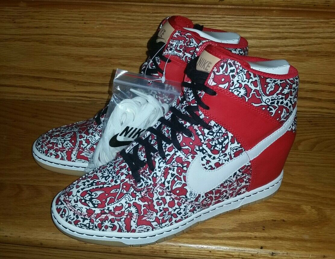promo code 94b95 d46c4 ... Nike e sky 9 hi nrg liberty di londra delle donne noi 9 sky rosso  529040 ...