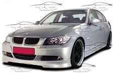 FRONT LIP SPOILER FRONT BUMPER SPLITTER FOR BMW E90 E91 SERIES 3 05-08 FA001