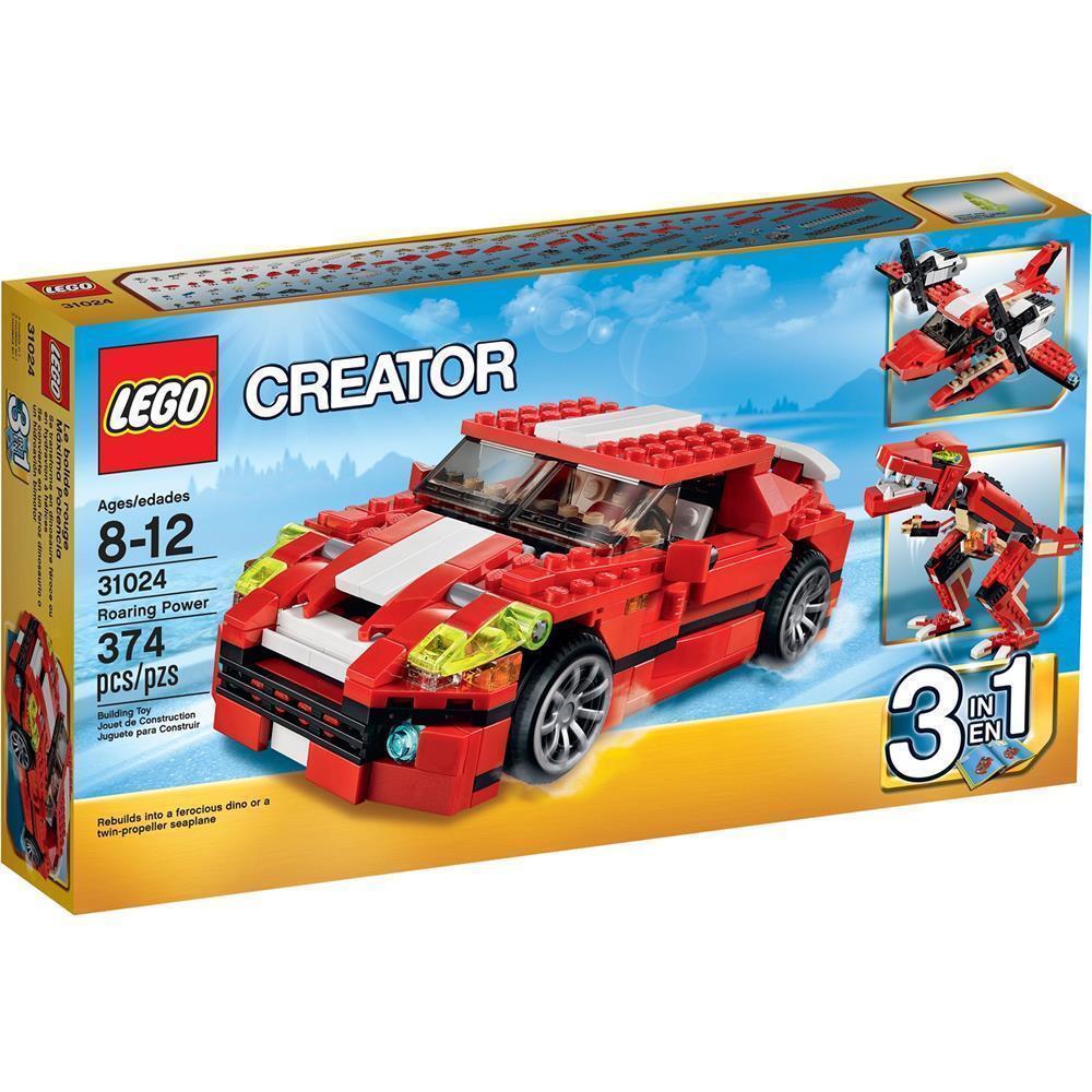 LEGO ® Creator 31024  Power Racer  3in1 modèle similaire à 31070 Nouveau Neuf dans sa boîte New En parfait état, dans sa boîte scellée