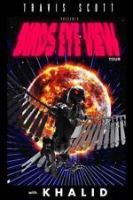 T-745 Art Poster Travis Scott Birds Eye View Tour Rap Music Silk Print