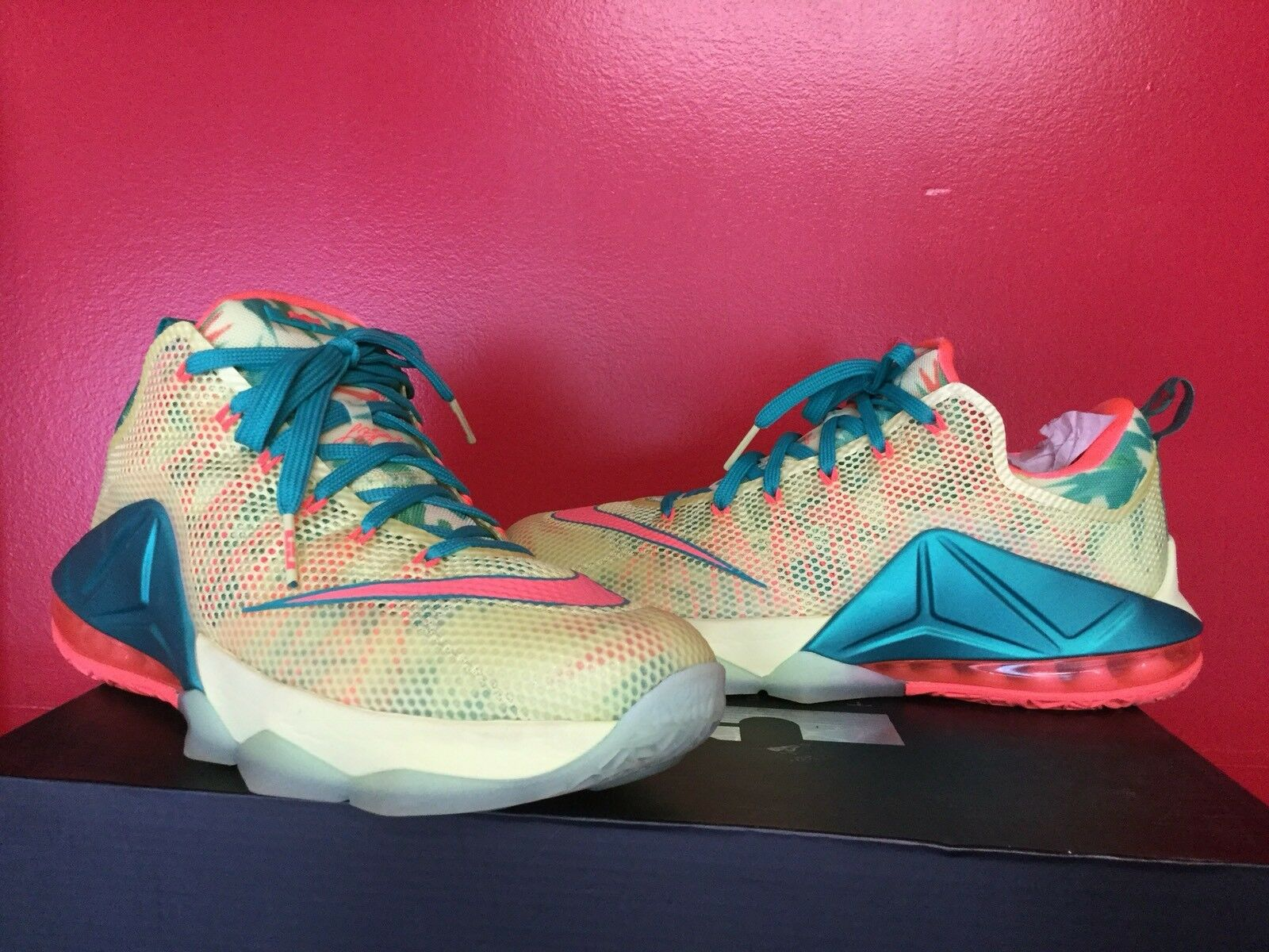 NIKE AIR LEBRON XII LOW PALMERS  SZ10 IMMACULATE CONDITION