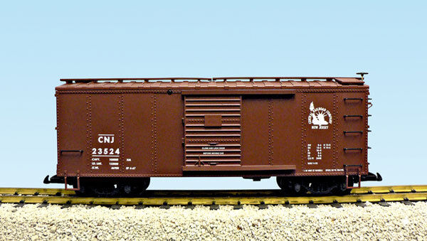 USA Trains G Scale R19117B Central New Jersey BC Red