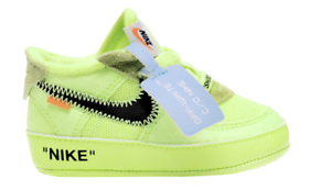 huge discount 9d5c1 f9b8a Nike Off White Air Force 1 Low The Ten 10 Size 3C Infant Toddler .