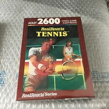 VINTAGE# REALSPORTS TENNIS   #ATARI 2600#MOD CX2680P#NIB Pal Version SEALED